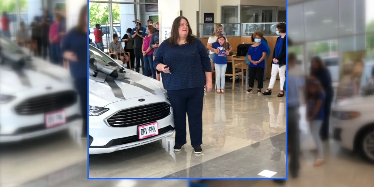 Memphis Uber driver delivering meals to hospital workers gets surprised with new car