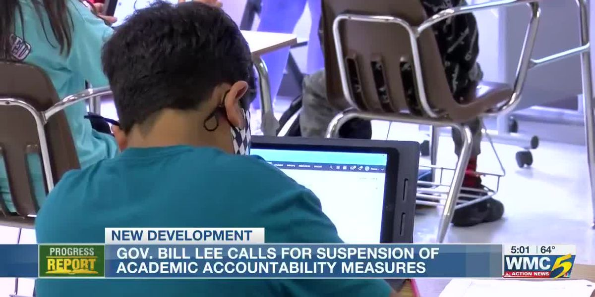 Governor Lee announced the suspension of negative consequences associated with student assessments for this year, however says statewide mandates are not effective