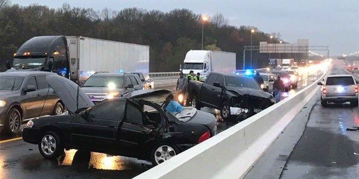 2 critical after deputy-involved crash on I-40