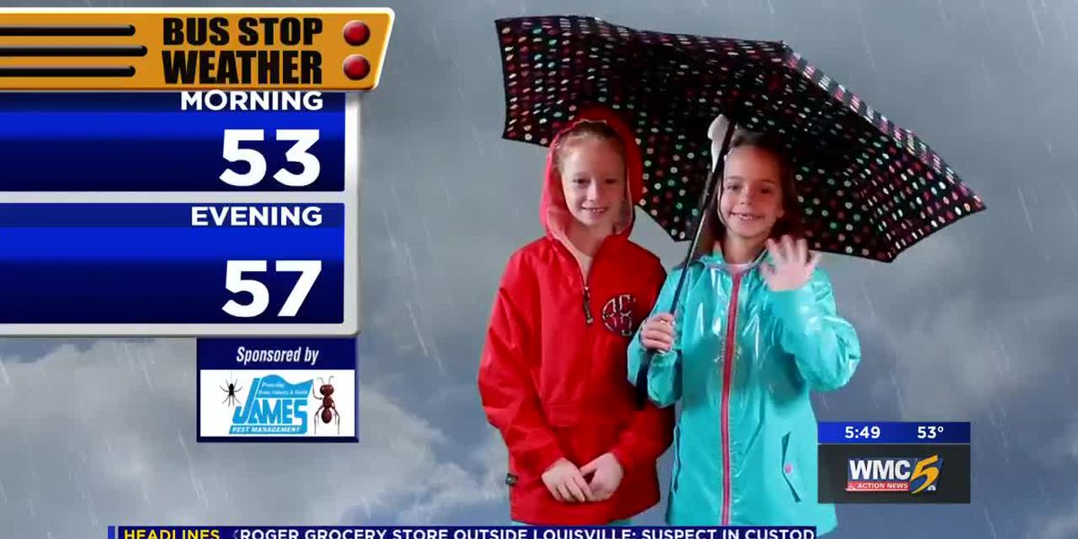 October 25, 2018 bus stop forecast