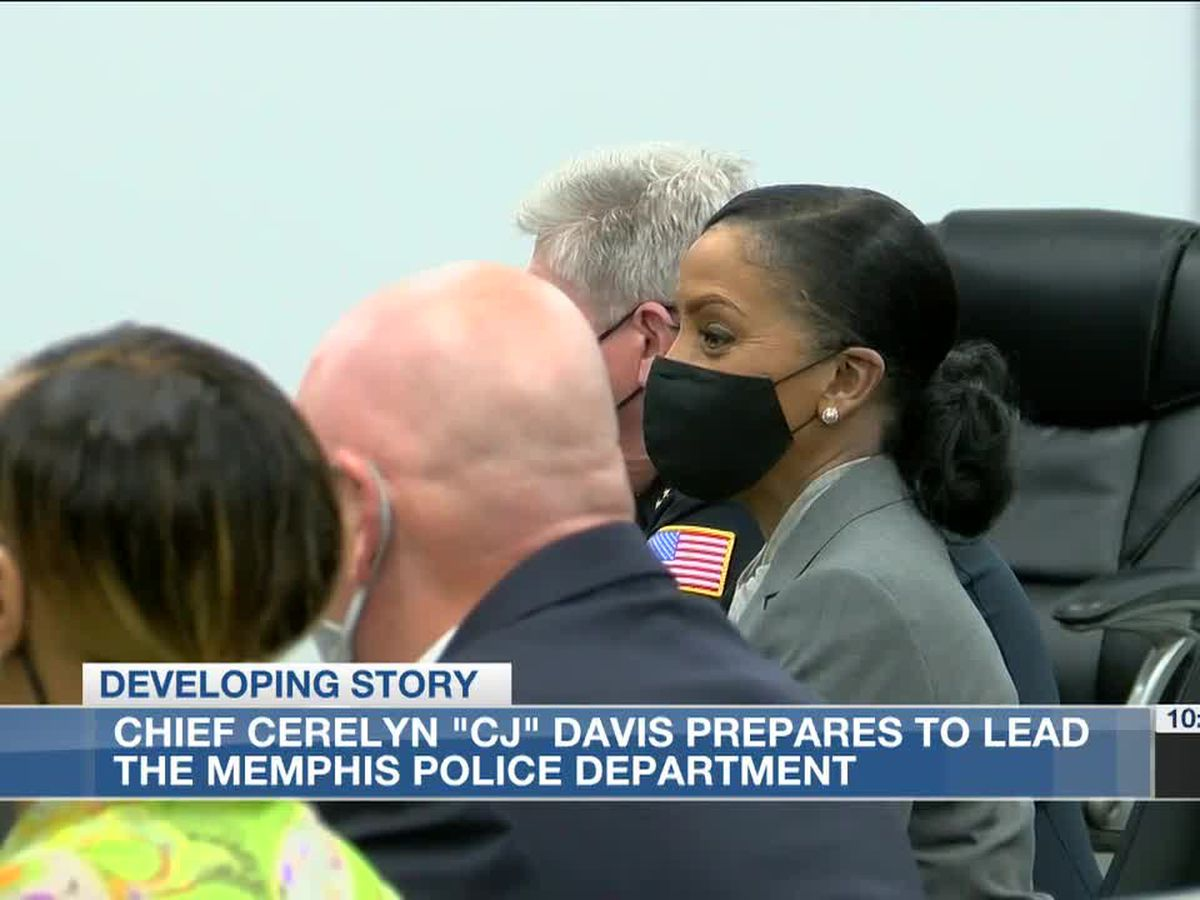 "Chief Cerelyn ""CJ"" Davis prepares to lead the Memphis Police Department"