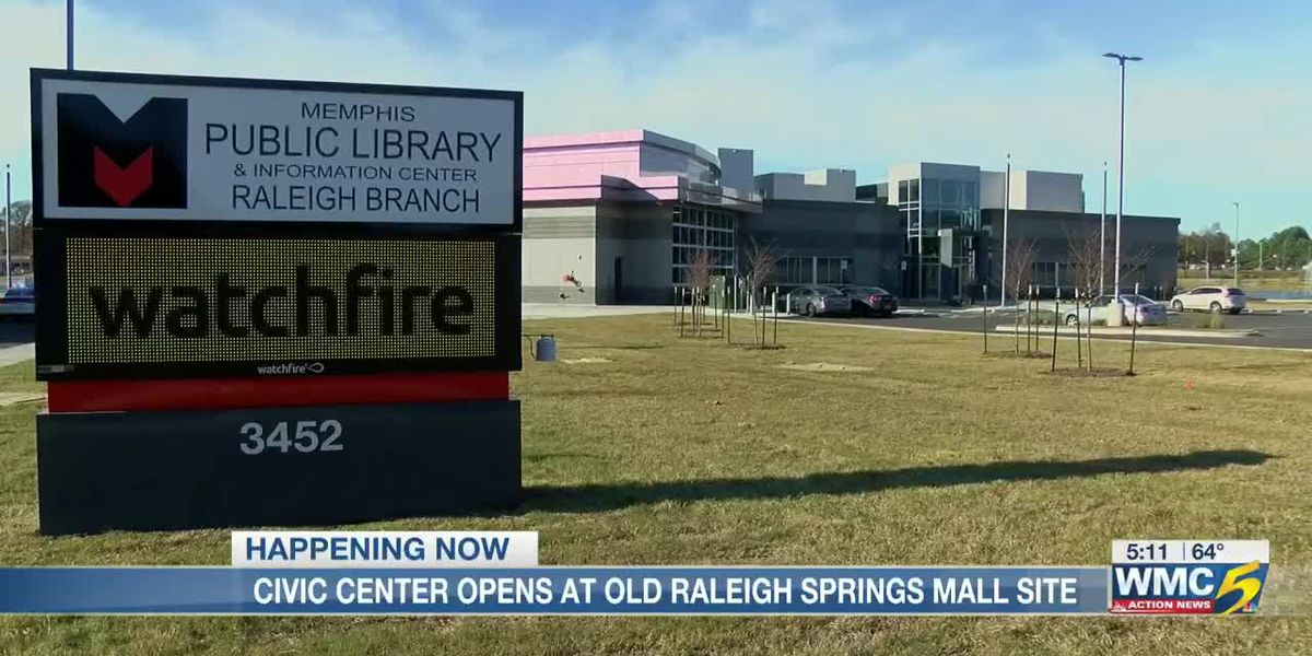 Raleigh Springs Civic Center opens