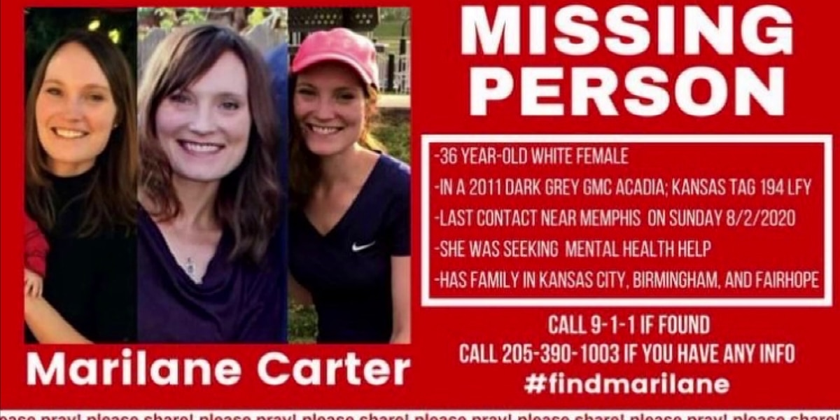 Search for missing Kansas mother focuses on Mid-South