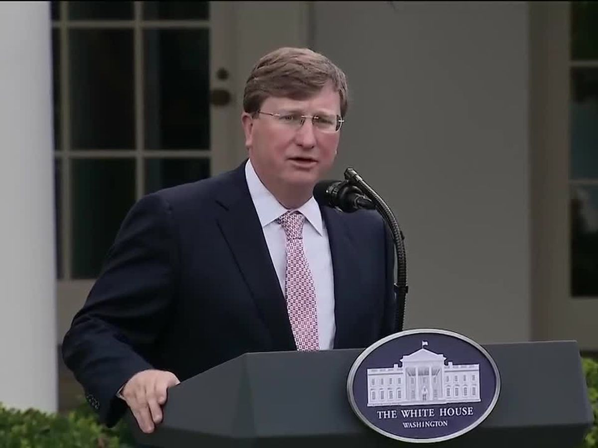 Gov. Reeves calls new rapid Covid-19 tests a 'game changer' while speaking at White House