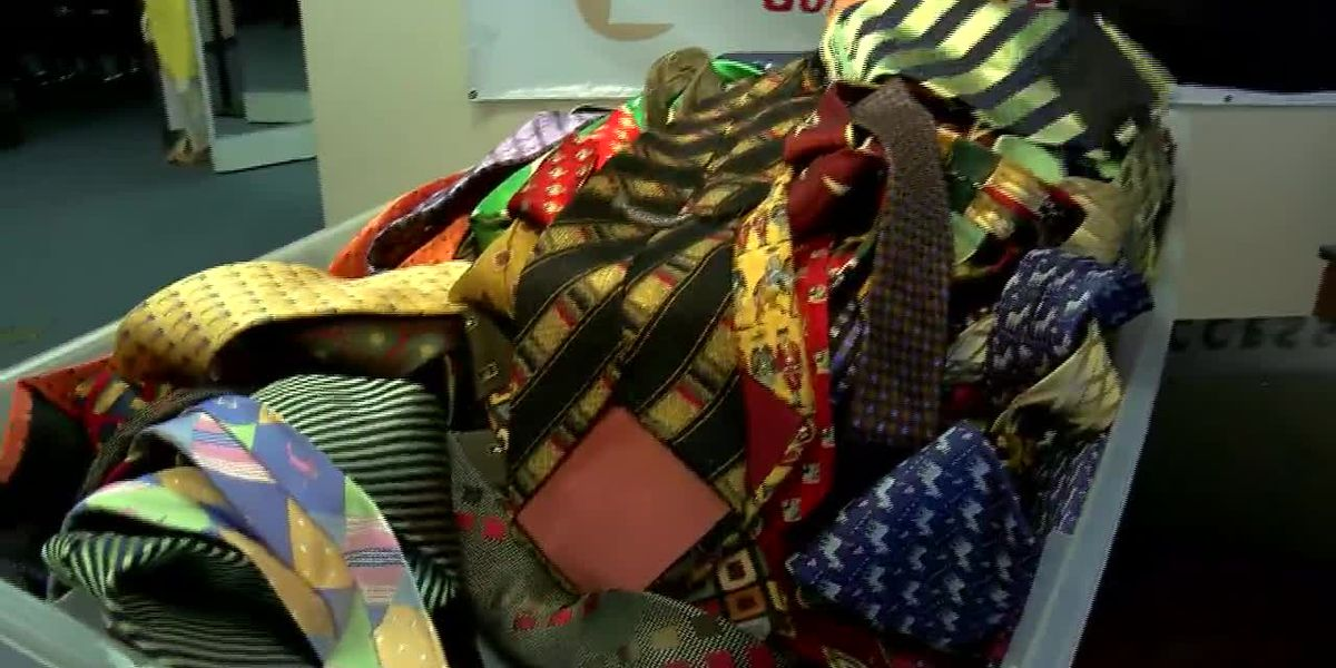 WMC helps viewer donate 100-plus ties to Dress for Success Memphis