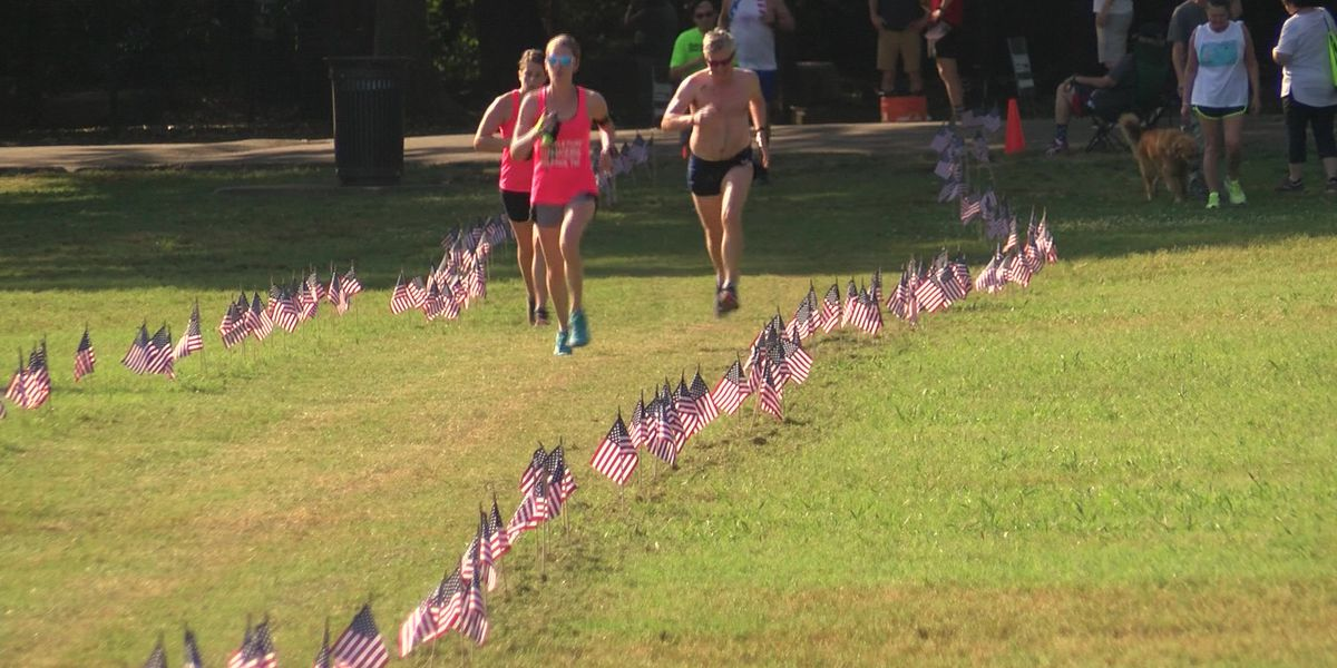 Veterans honored during run at Overton Park