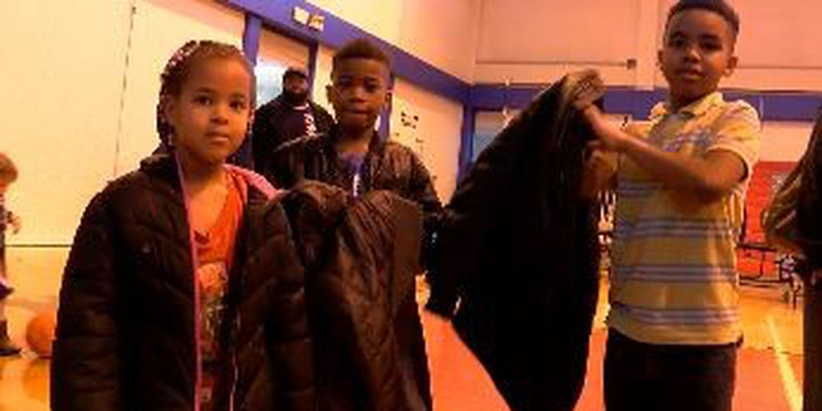 KIPP Memphis students get new coats through 'Share the Warmth' campaign
