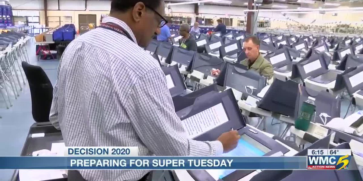 Shelby County Election Commission preps for Super Tuesday