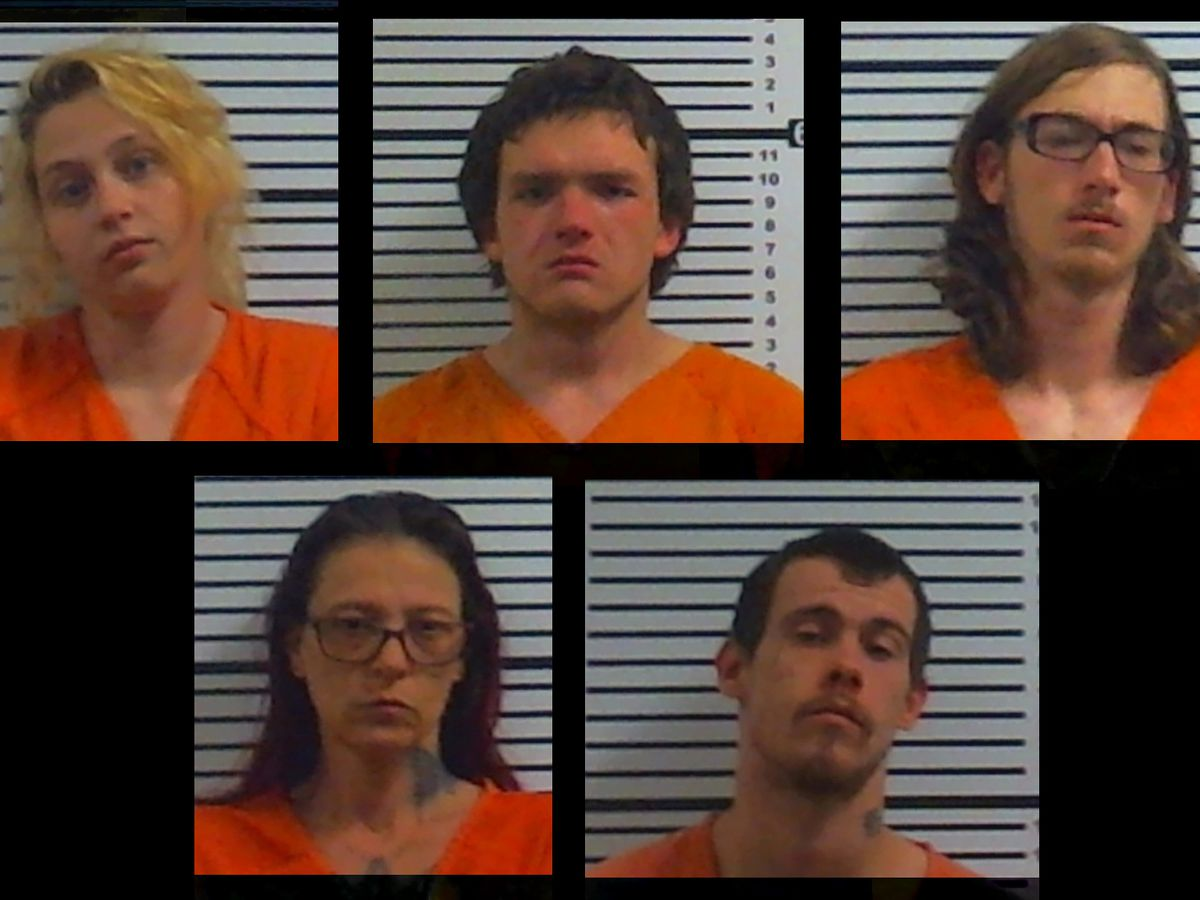 Five arrested on numerous charges in Hardeman County homicide