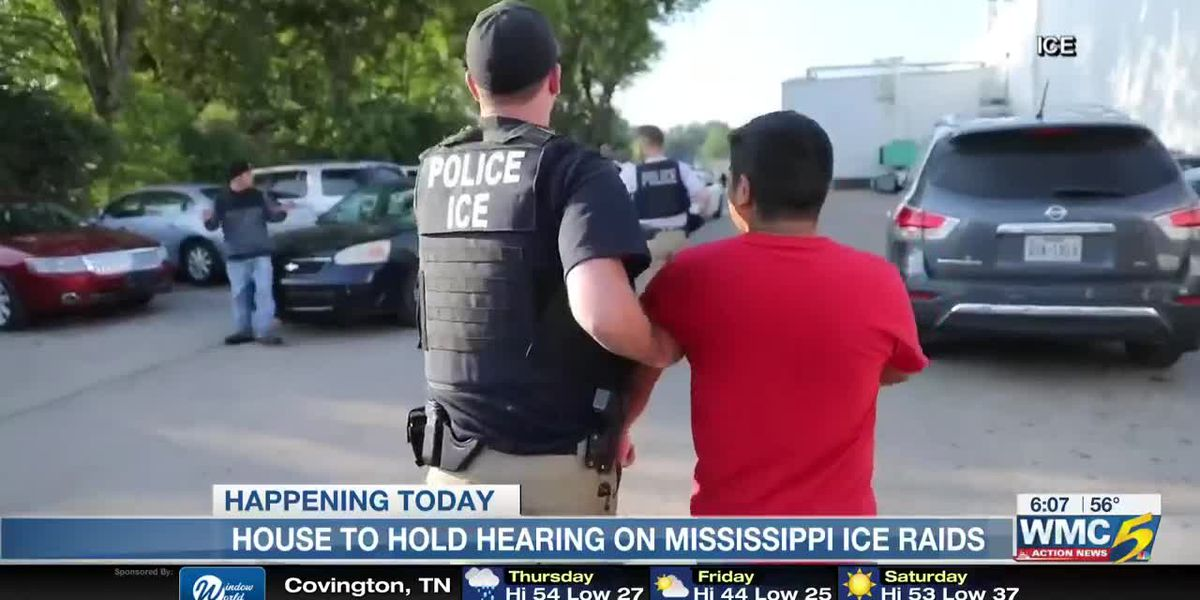 Hearing to be held for Miss. ICE raids