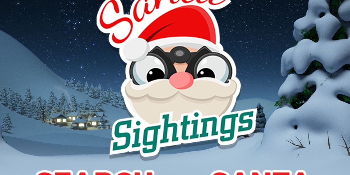 Join the search for Santa