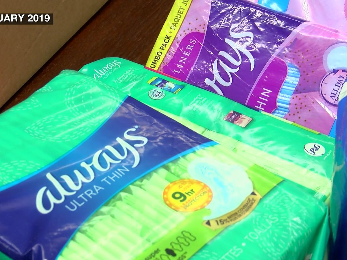 Commission in support of lifting tax on feminine hygiene products