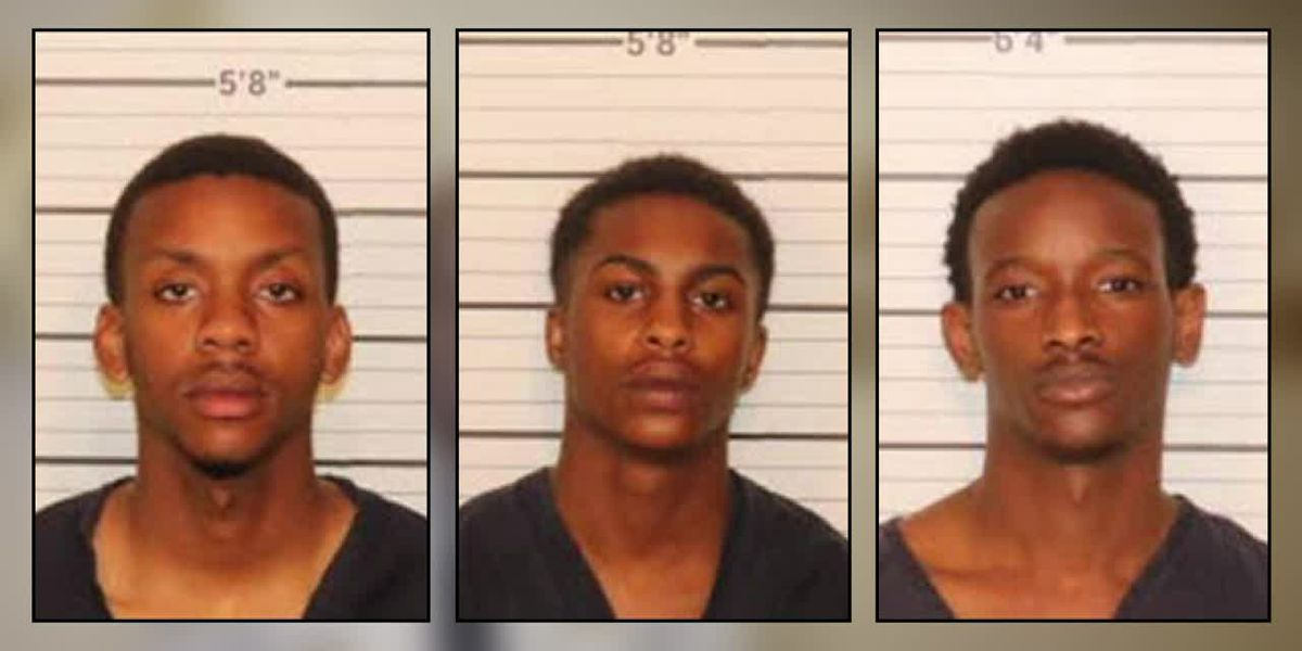 3 men arrested after shots were fired at SCSO detective Monday morning
