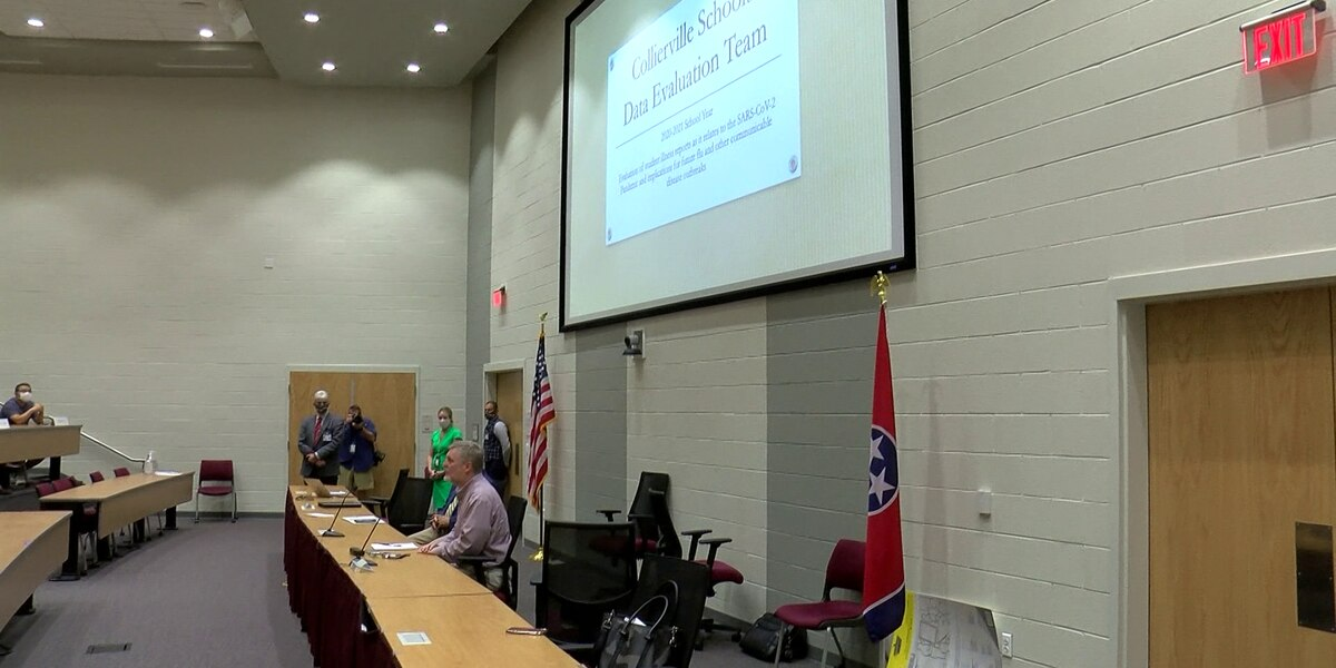 Collierville Schools creating COVID-19 data tracking program for students, staff