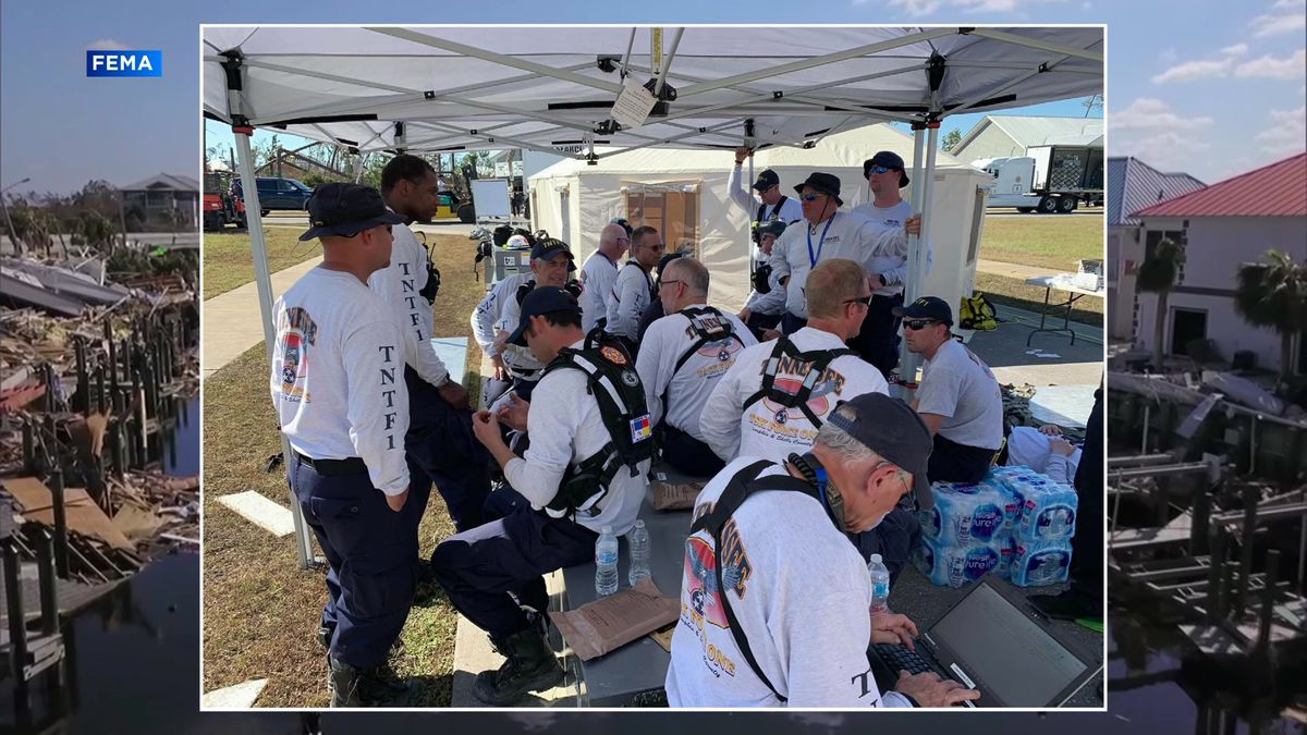 TN Task Force 1 continues work rescuing Hurricane Michael victims