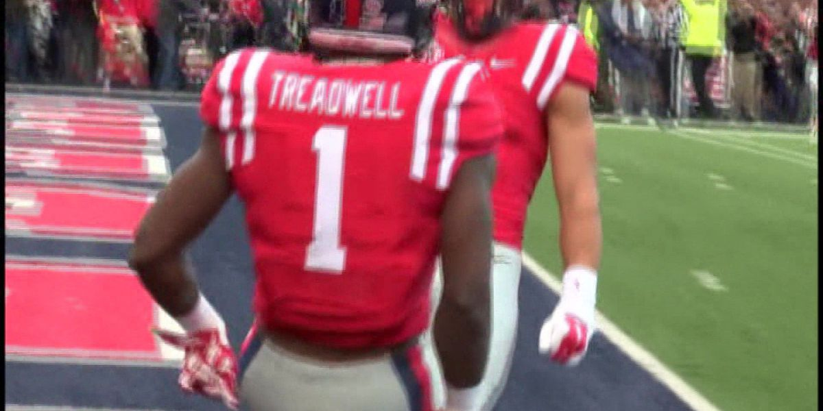 wholesale dealer 8797c 73359 Vikings take Ole Miss WR Treadwell at No. 23