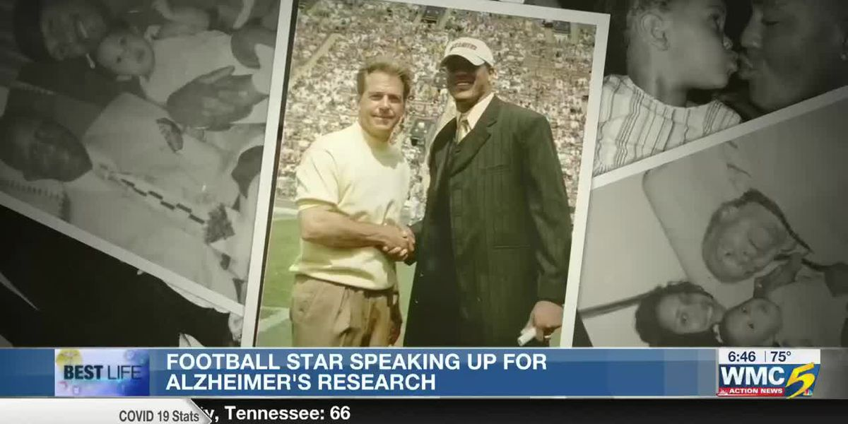 Best Life: Football player speaking up for Alzheimer's research