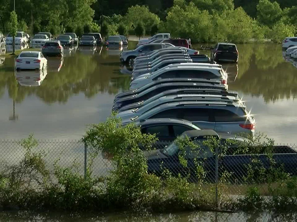 Nonconnah Creek reaches record levels in Memphis