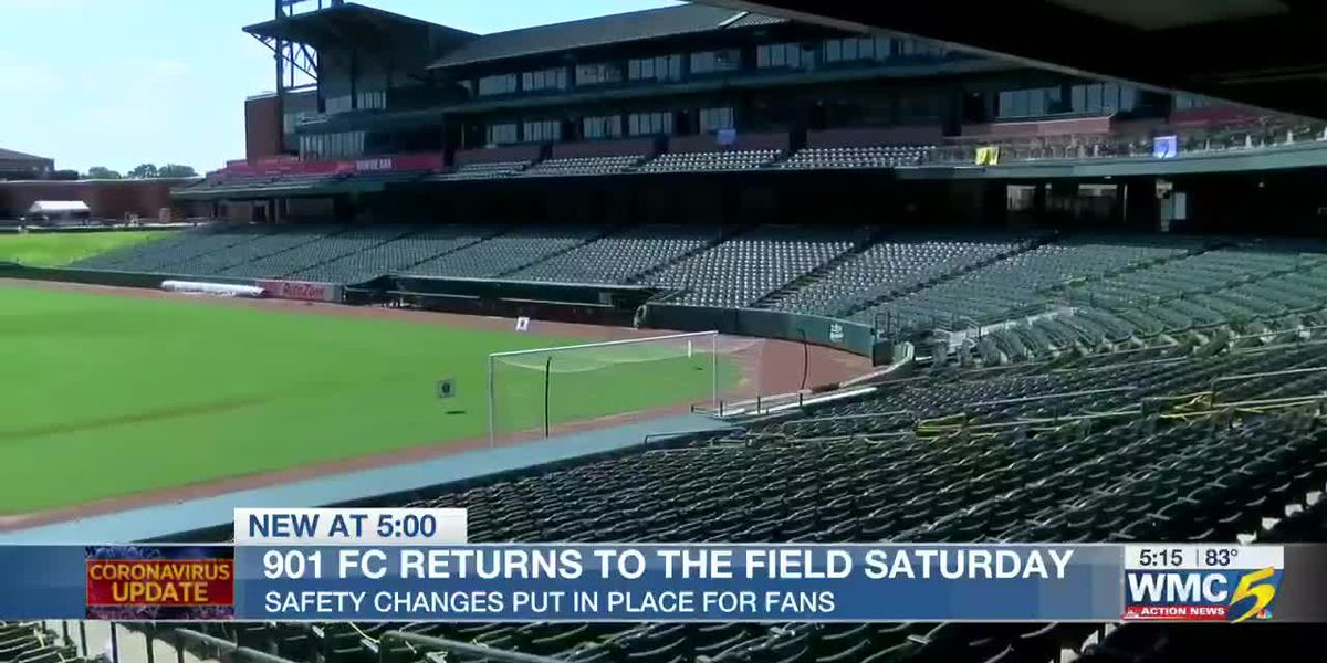 901 FC preparing for first sporting event with fans since shutdown from pandemic