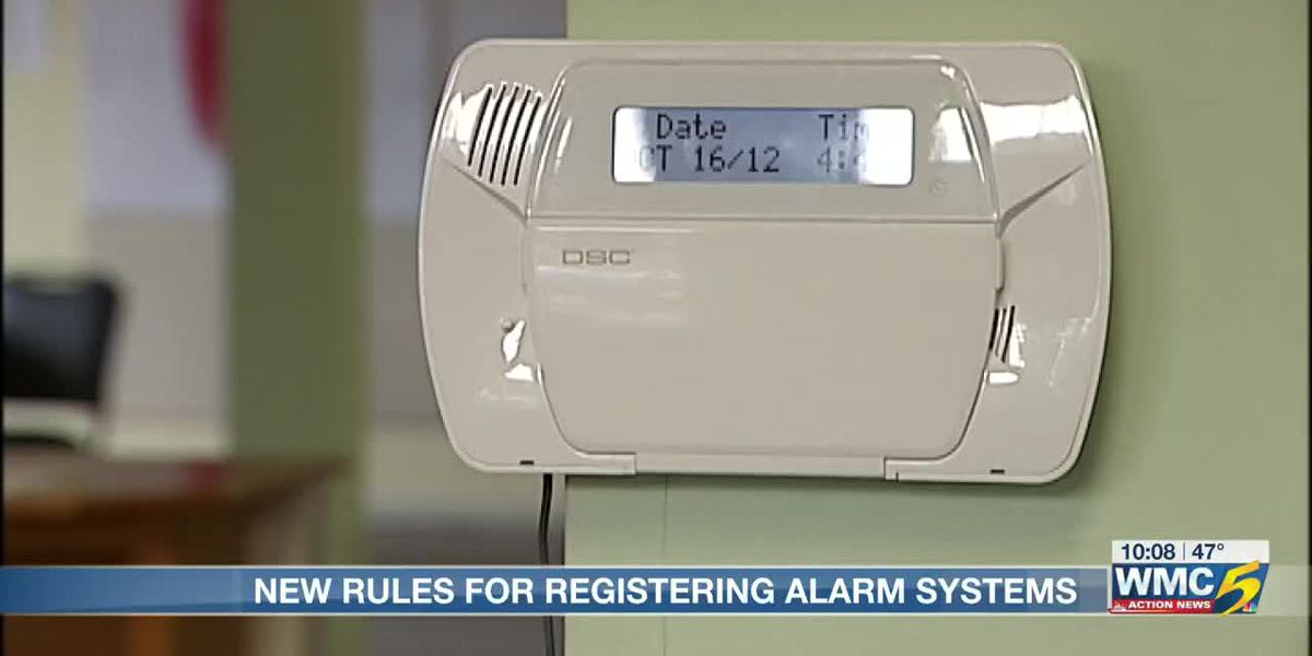 New rules for city alarm permits