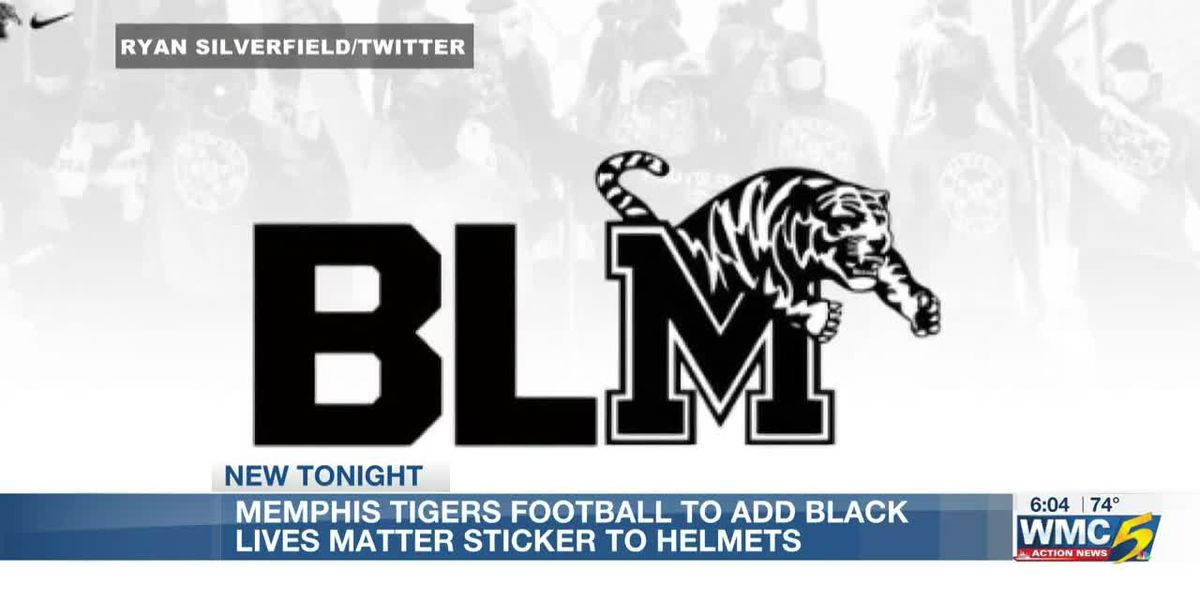 Memphis Football to wear BLM sticker on helmets for entire fall season