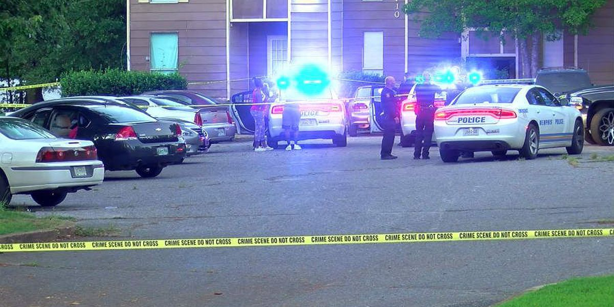 Man hospitalized after apartment complex shooting