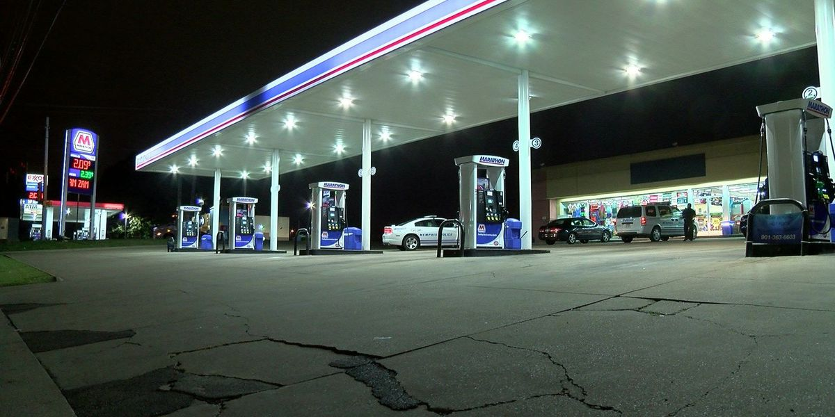 Would-be robbers leave gas station without any money