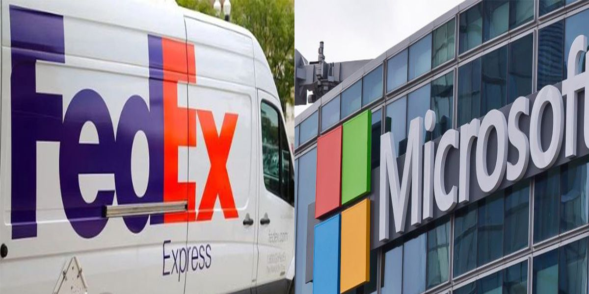 FedEx, Microsoft announces new partnership to help business deliveries