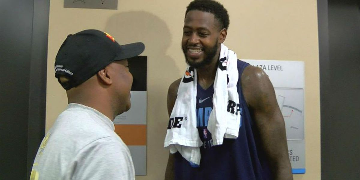 JaMychal Green happy to be back with Grizzlies