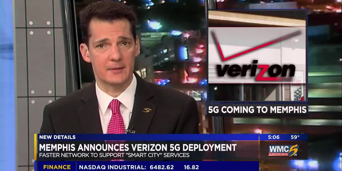 Verizon will launch 5G service in Memphis in 2019