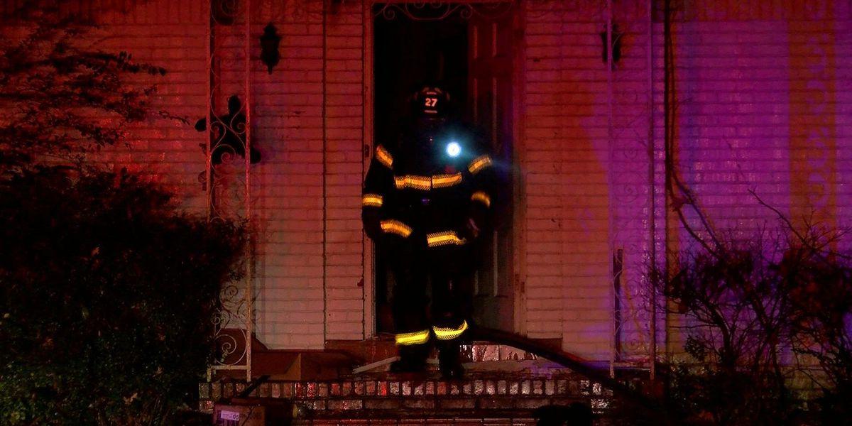 MFD investigating arson at Frayser home