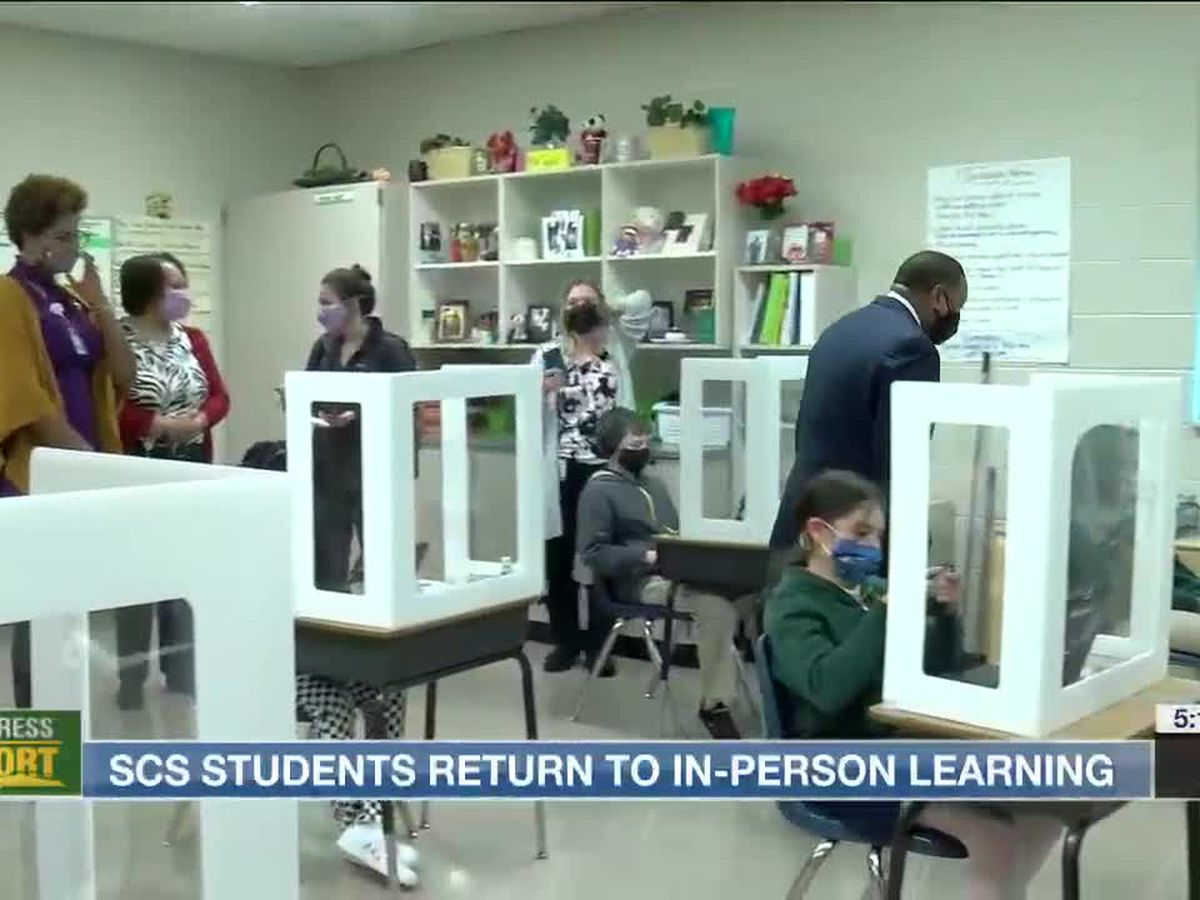 First day back in classrooms for Shelby County Schools