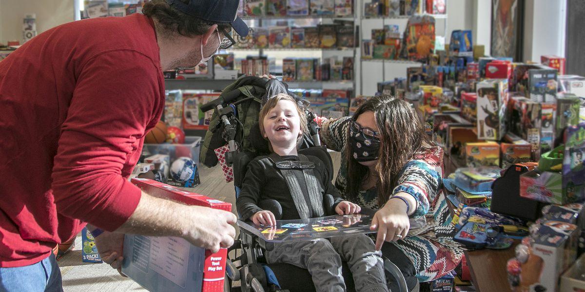 FedExFamilyHouse creates Santa's Village for patients