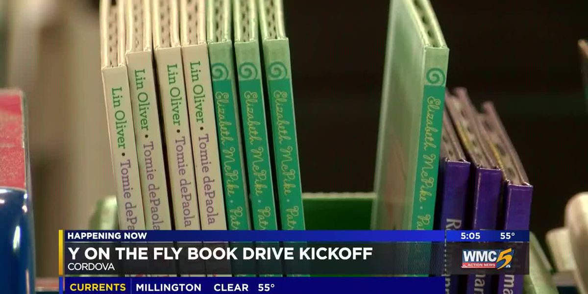 YMCA book drive kicks off Monday