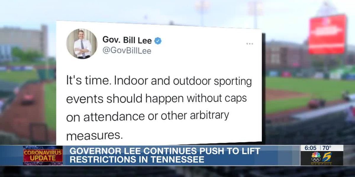 Gov. Lee continues push to lift restrictions in Tennessee