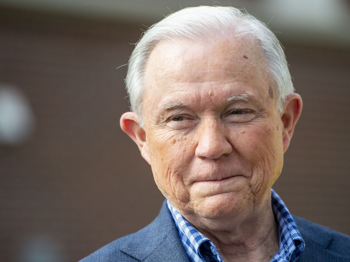 Seeking comeback, Sessions faces Tuberville in Alabama race