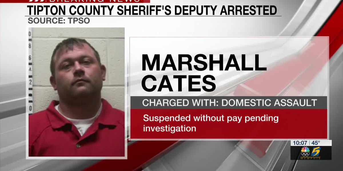 Tipton Co. Deputy arrested for domestic violence, officials say