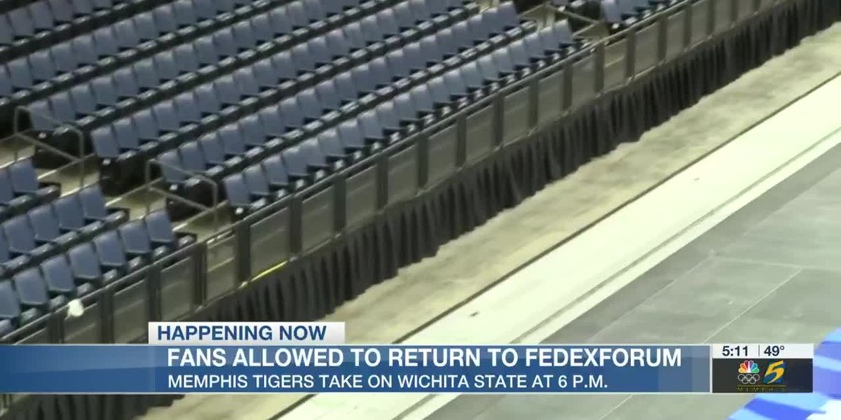 Tigers welcome fans back to FedEx Forum