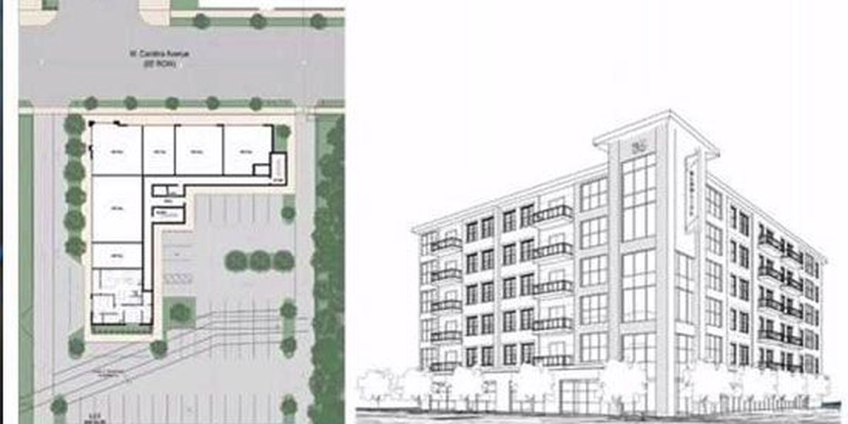 Developers plan nearly $8M six-story apartment building near Loflin Yard