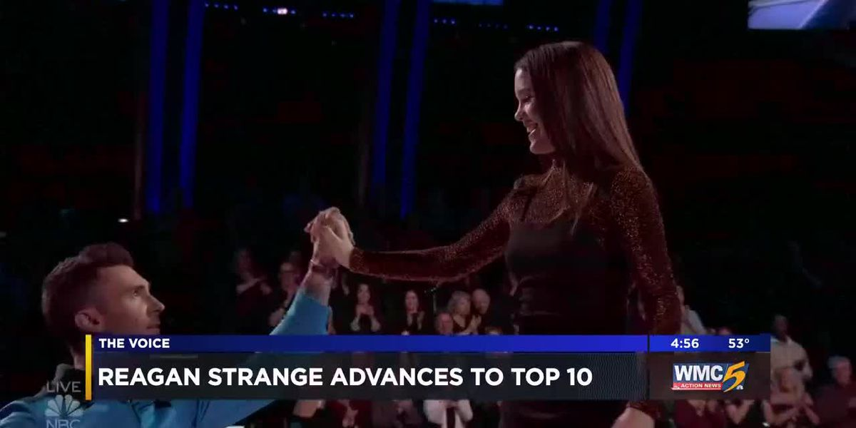 Reagan Strange advances to Top 10 on 'The Voice'