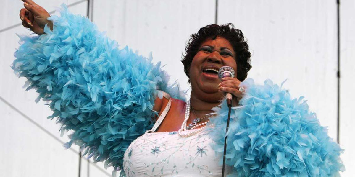 Aretha Franklin receives Pulitzer Prize