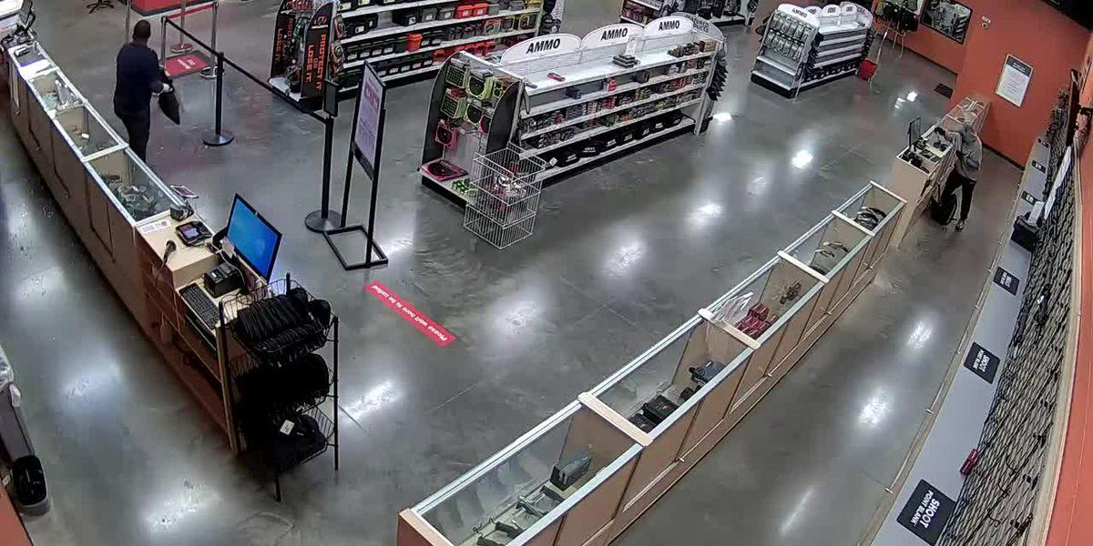 Officials offering $10K reward after guns stolen from shooting range