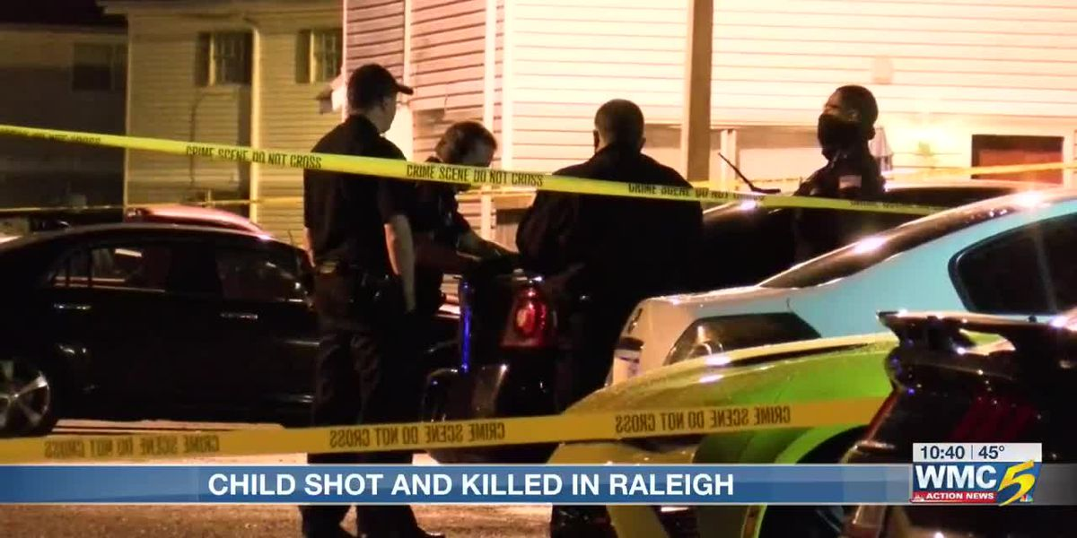 8-year-old girl shot and killed at Raleigh apartment complex, homicide record broken again