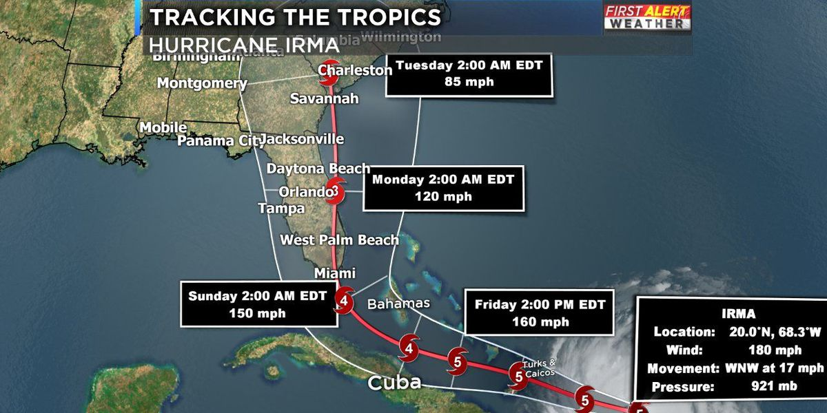 Hurricane Irma continues to maintain strength