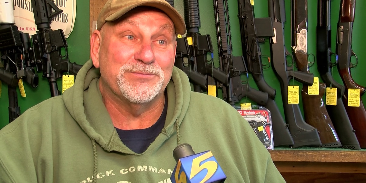 Gun sales expected to increase for Black Friday