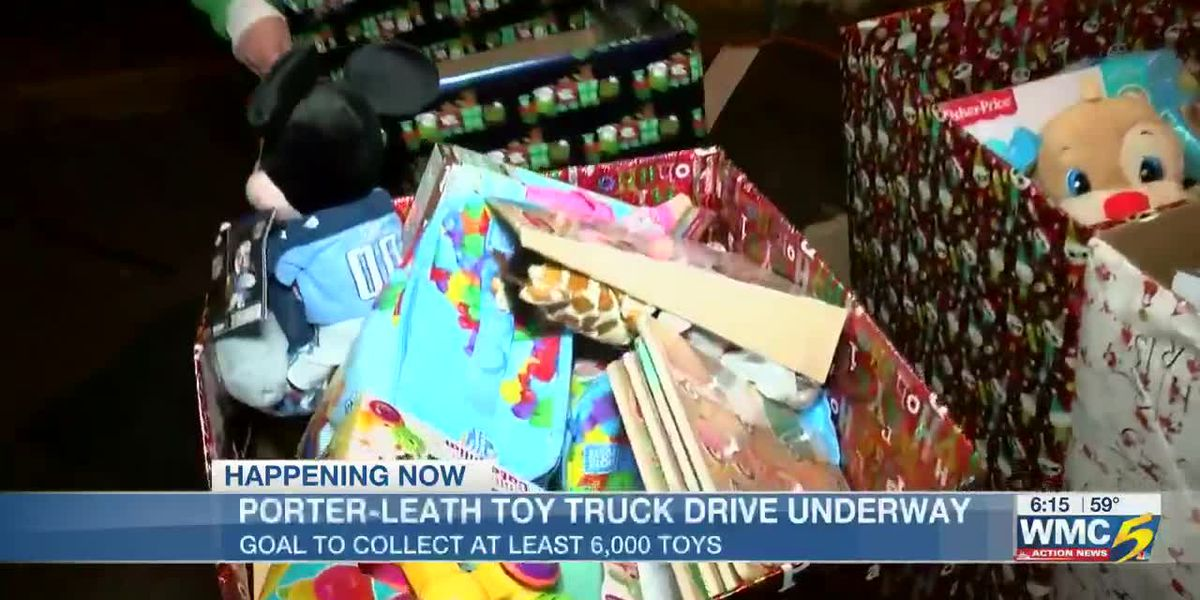 Porter-Leath Toy Truck Drive underway, goal to collect at least 6,000 toys