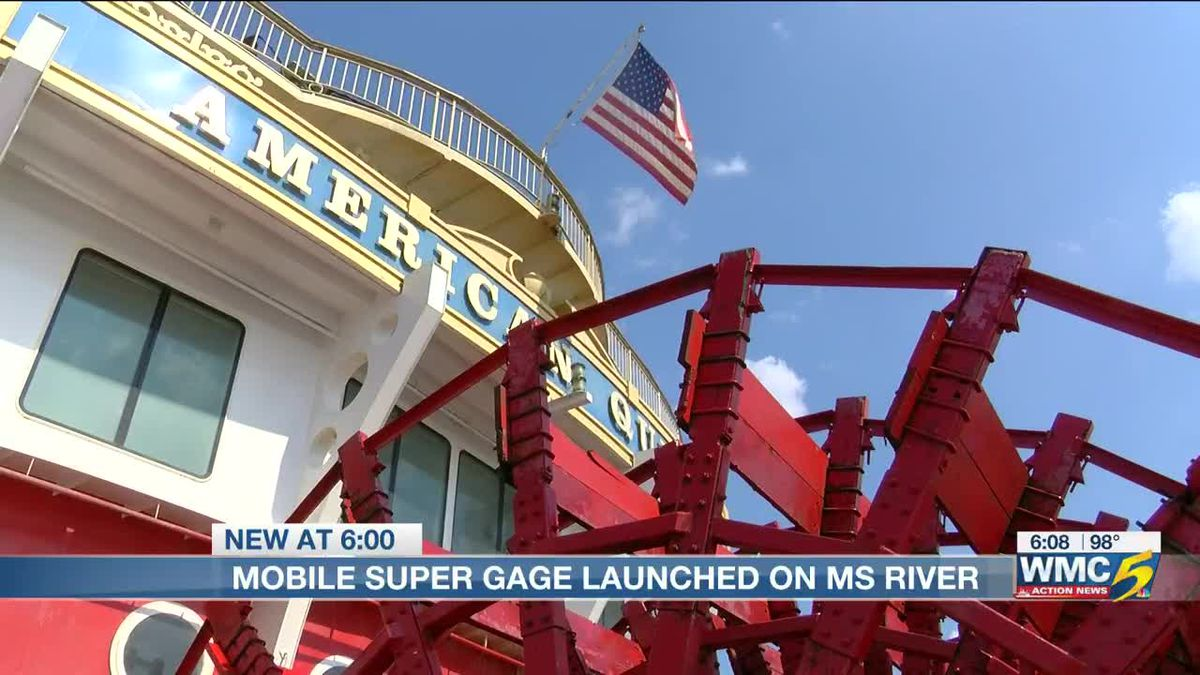 Mobile Super Gage set to help protect Miss. River