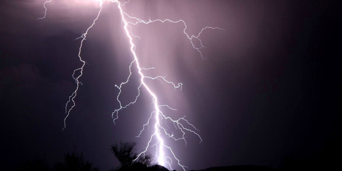 Breakdown: Why lightning can strike the same place twice