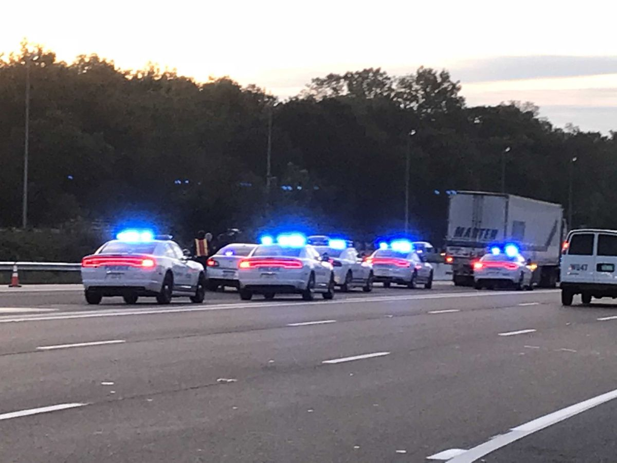 Shots fired on interstate in apparent road rage