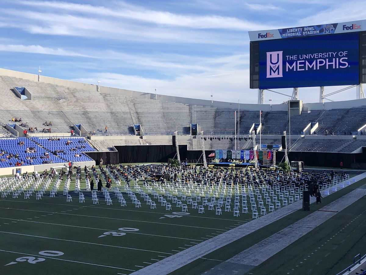 UofM holds socially distanced graduation ceremonies for class of 2020 amid pandemic